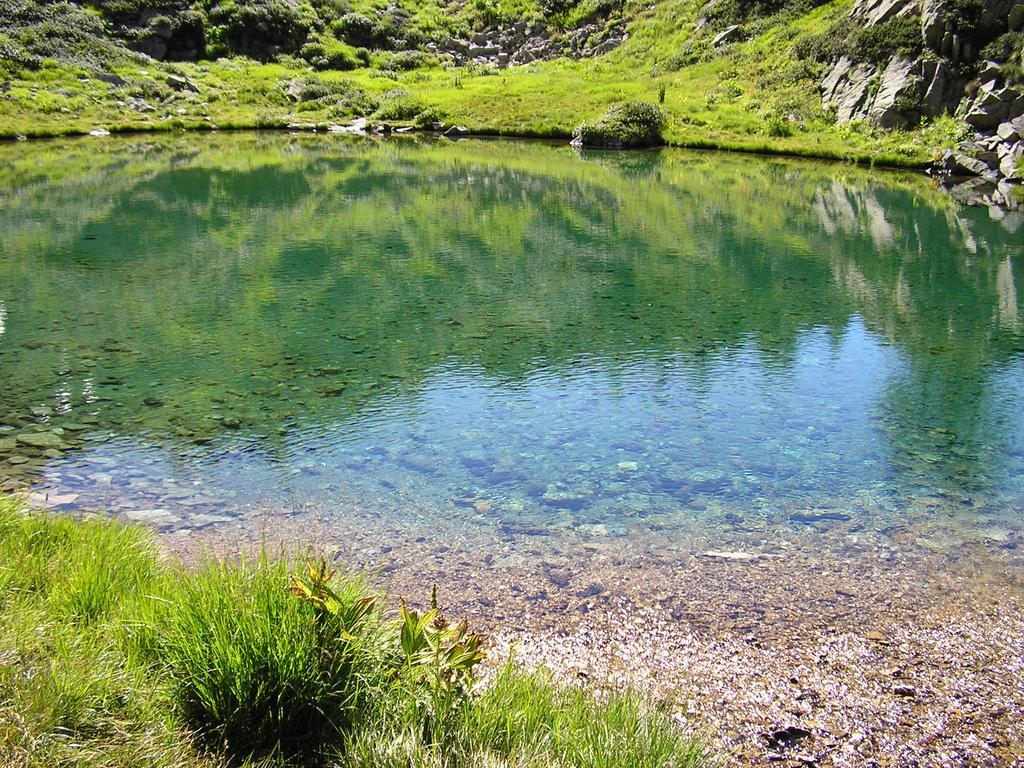 uno dei laghetti del Bellagarda