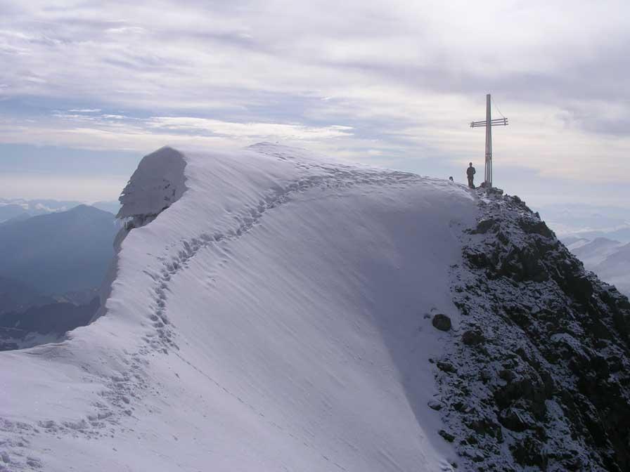 La cima del Gran Zebru'