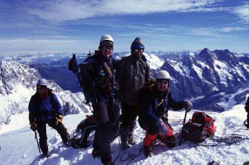 Stelvio, Alberto e Davide in vetta (22-8-2004)