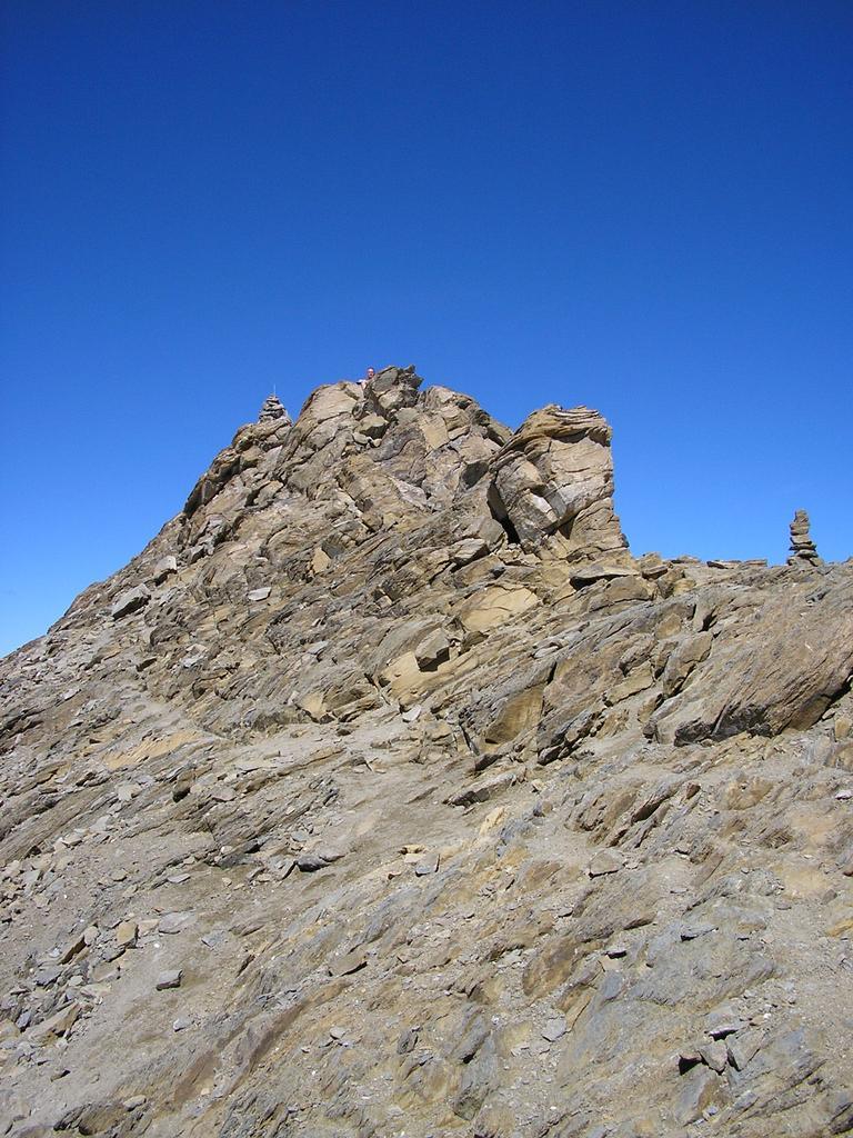 la punta del Taou Blan 3438 m