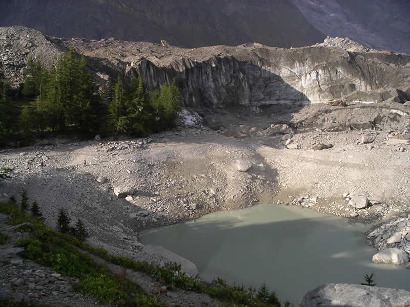 Miage (Lago del) da La Visaille per il Lago Verde 2004-09-11