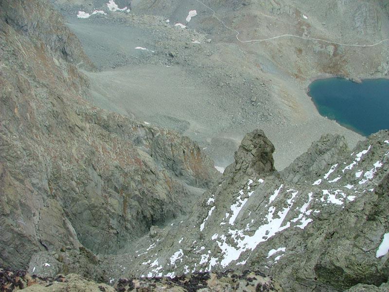 Barracco (Punta) da Pian del Re per il versante O e cresta S 2004-10-04