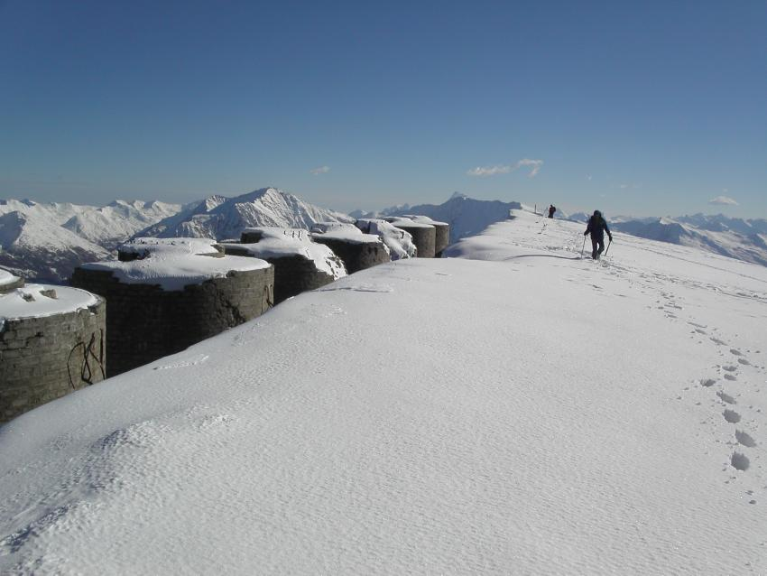 Vetta dello Chaberton 3130 m.