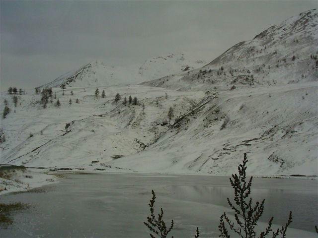 Foto dalla partenza (lago)