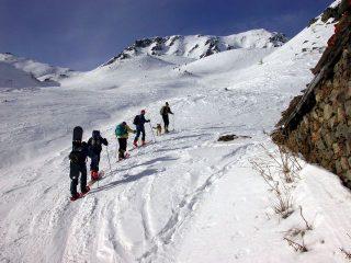 Lasciando le Alpi Flassin