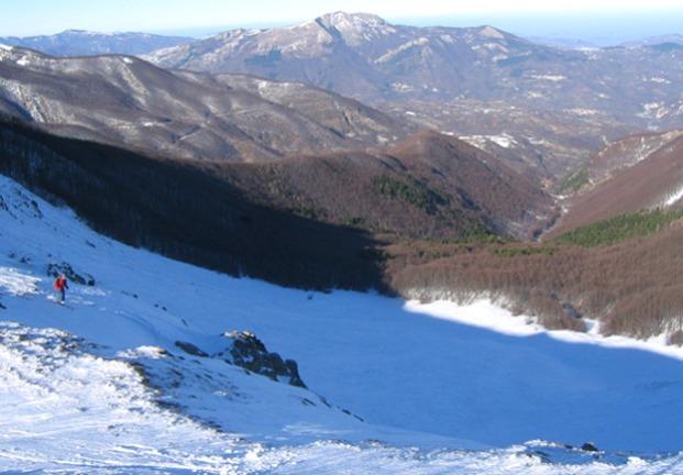 Sillano (Monte) dalla Valle di Rio Re 2005-01-06