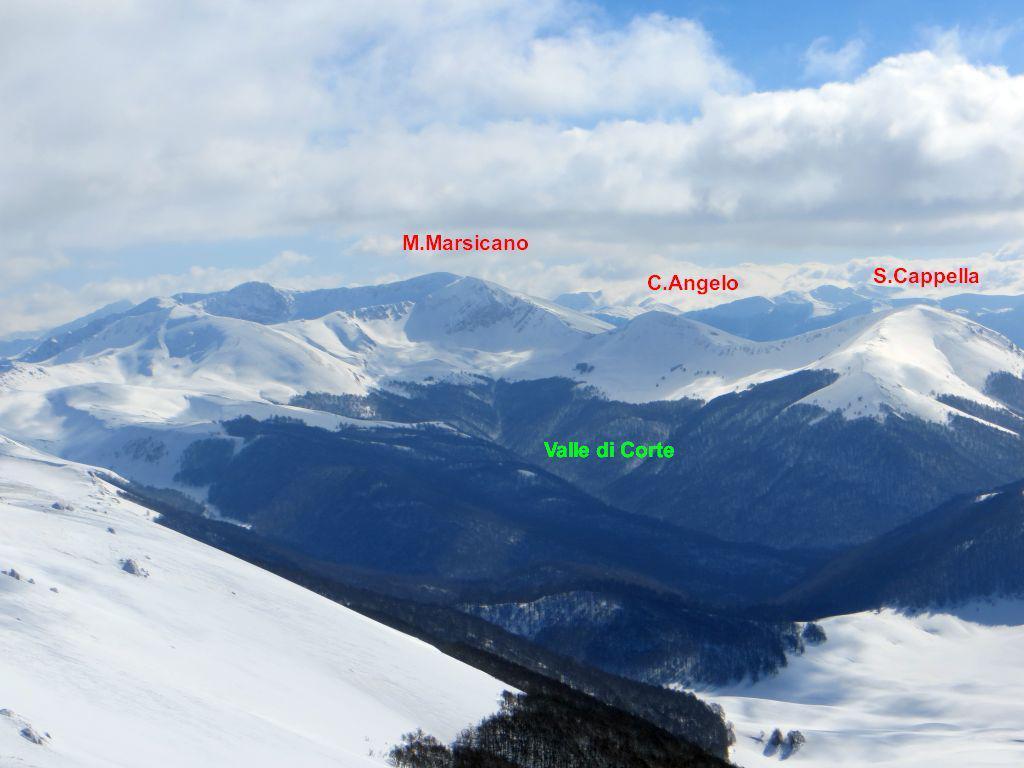 Marsicano (Monte) per la valle di Corte 2015-02-18