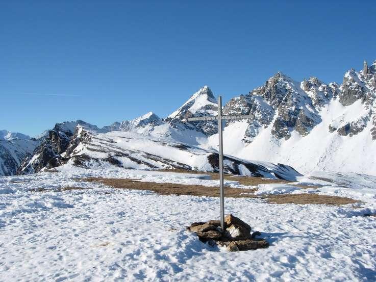 Orogna (Punta d') e Monte Cazzola da Alpe Devero 2005-01-16