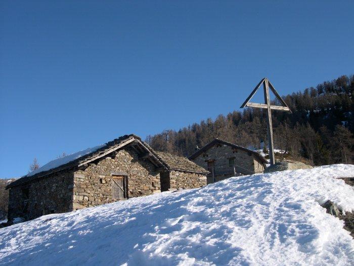 l'alpe Leretta a metà percorso