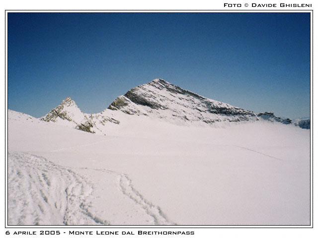 Monte Leone dal BreithornPass