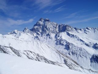 Monte Viso visto dalla Sella d'Asti