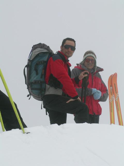Giuseppe e Ugo in cima
