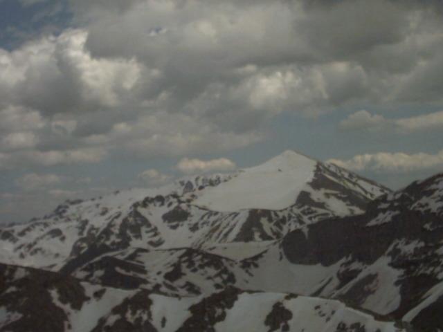 Panorama del Velino dalla vetta