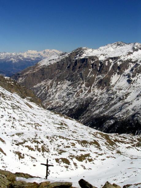 Dalla cima verso il fondovalle