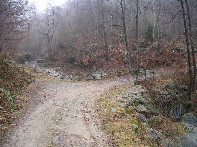 ponte sul t. gallenca due km prima dell'alpe