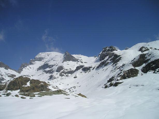 Monte Roisetta visto da quota 2.400
