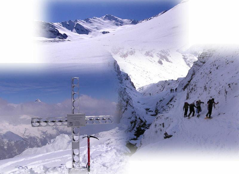 Salita molto bella e splendida discesa, grazie alla neve fresca abbondante sul ripido pendio finale; panorama stupendo