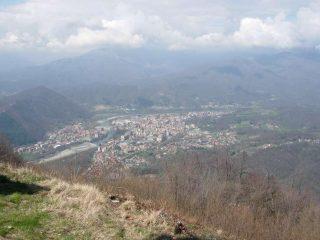 Panorama su Borgosesia