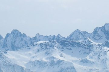 Il panorama verso il Monviso dalla cima del Vandalino.