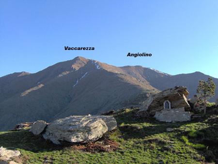 Le due vette dall'alpe La Cialma