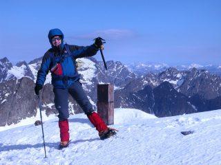 io in vetta al Monte Clapier (22-5-2005)