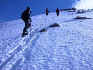incroci sotto la cima del Clapier (22-5-2005)