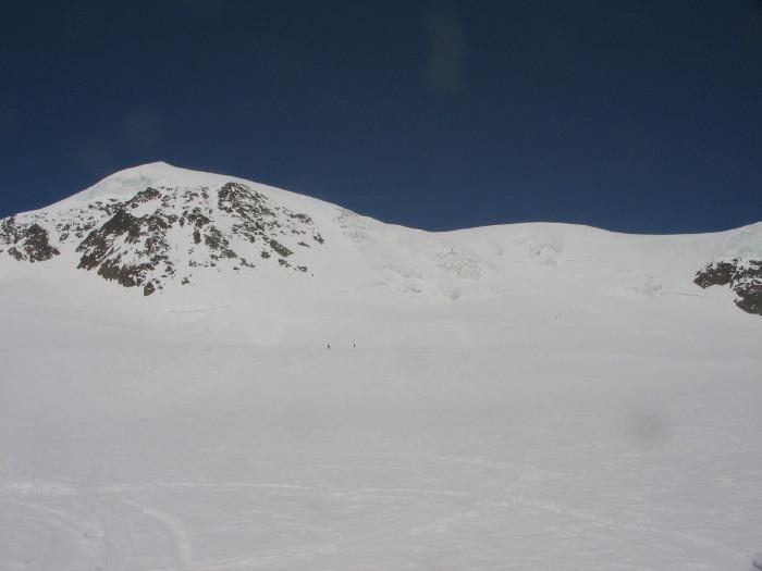 la parte superiore dell'itinerario oltre l'Alphubeljoch