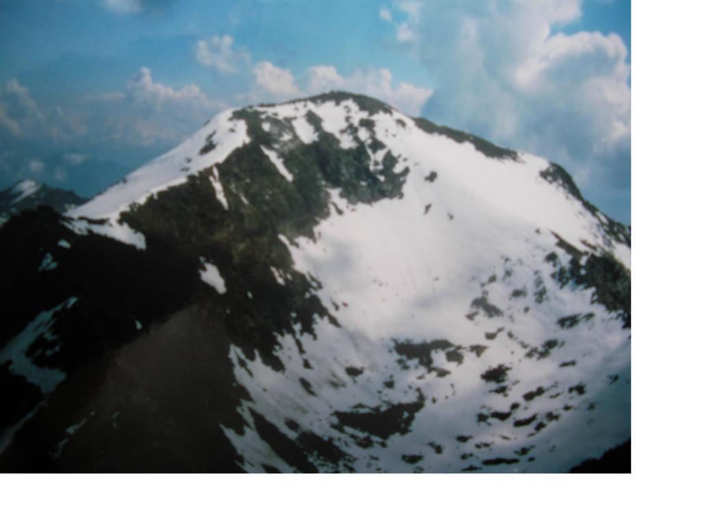 Il M.Glacier dal M.Dela'