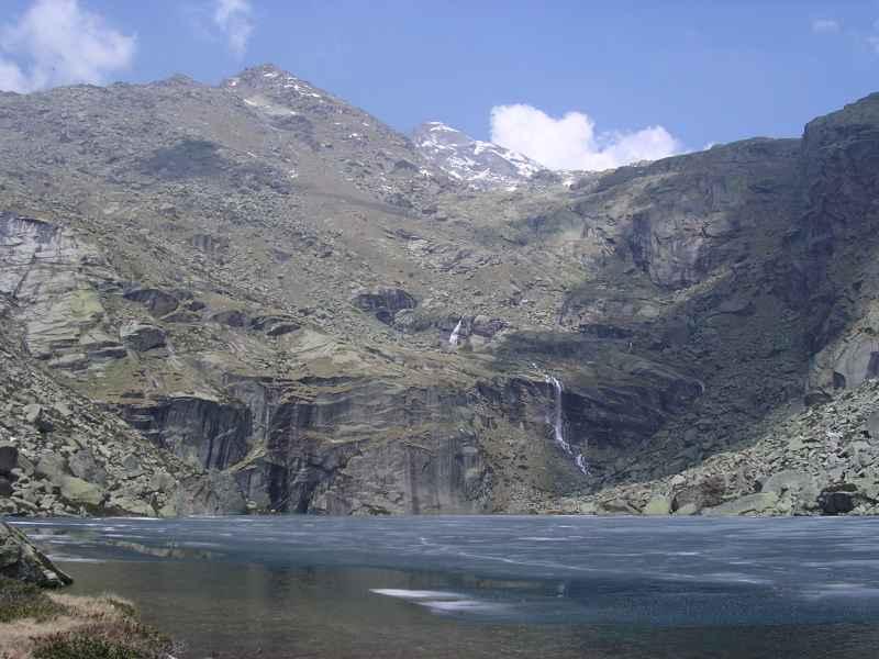 Gelato (Lago) da Posio, anello dei laghi del Vallone d'Eugio da Posio 2005-05-29