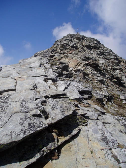 Cresta finale della Becca di Vieu