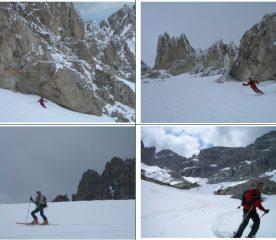 ambiente Dolomitico (e invernale) nel V.di Fossaceca.