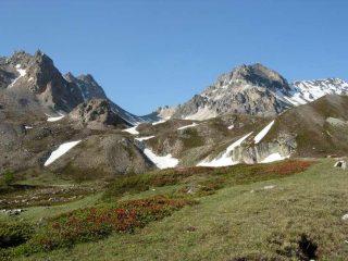 Verso il Col du Vallon