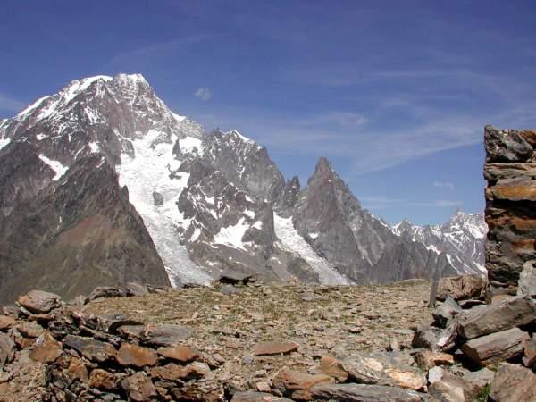 Il Monte Bianco dal Mont Fortin
