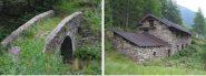 Il ponte sul Chasten e l'alpe Leuria