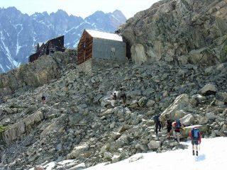 l'arrivo ai Rifugi Nacamuli e Col Collon (23-6-2007)