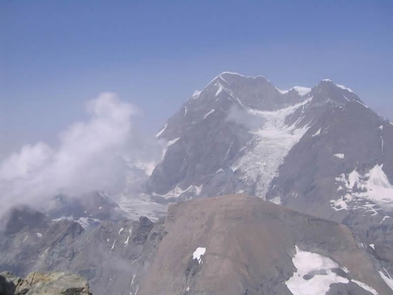 Grand Combin e Mont Avril dal Mont Gelé
