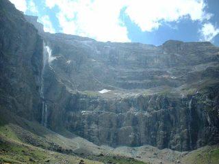 Il Cirque de Gavarnie e la cascata