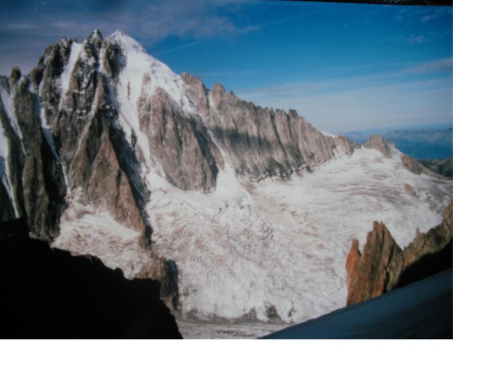 L'Aig. Verte dal Glacier du Milieu