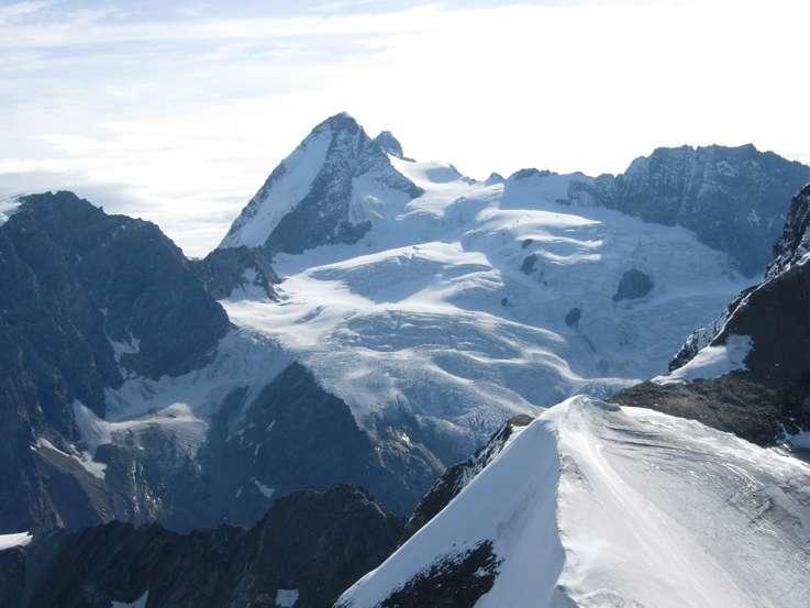 Panorama su Tète de Valpelline e Dent d'Hèren