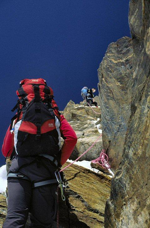 cresta Rey alla Dufourspitze
