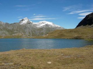 Mont Delà e Mont Glacier dal Lago Miserin