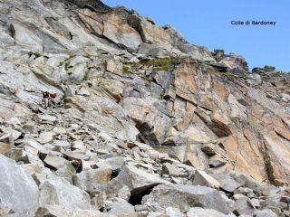 Colle di Bardoney dal versante piemontese