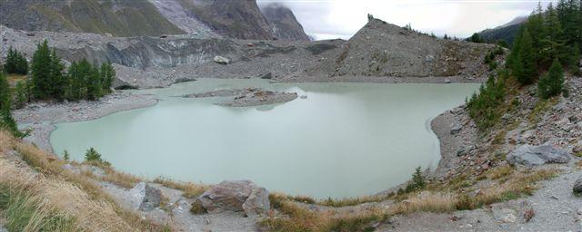 Miage (Lago del) da La Visaille per il lago del Combal 2005-09-16