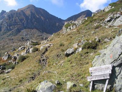 La Rocca Maritano dal Colle delle Lance