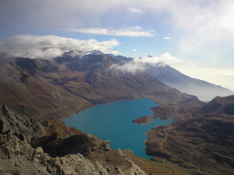 Il Lago del Moncenisio dalla Vetta