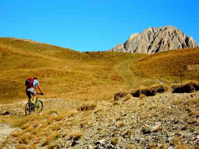 Rocca La Mejia arrivando al c.le S Blancias