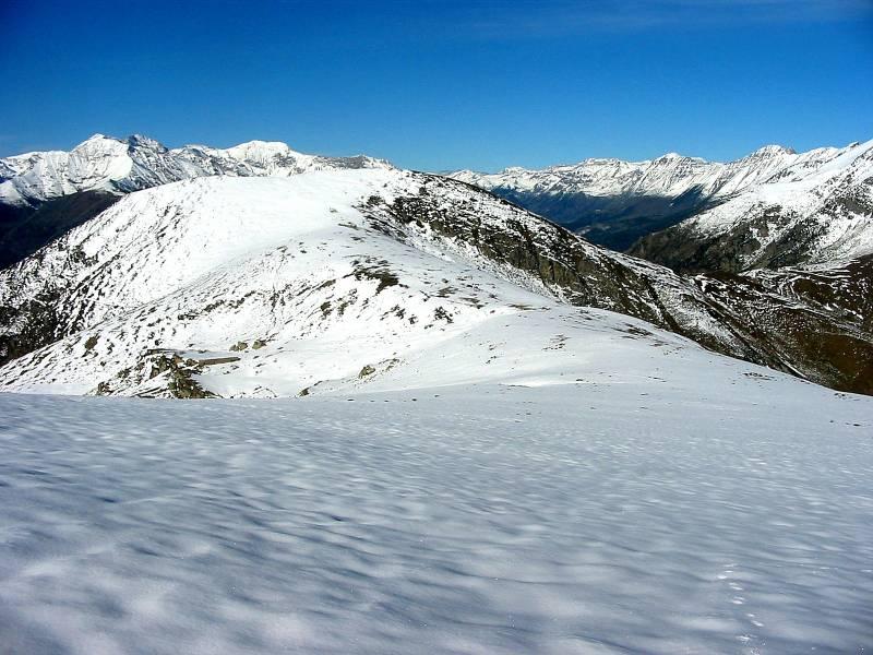 Il Monte Bocciarda dalla Punta Sarasina.