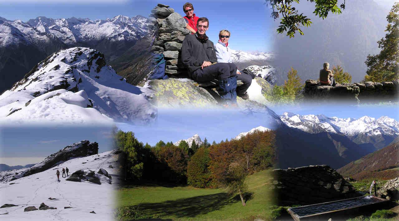 Autunno in val d'Ala, salendo al Monte Doubia