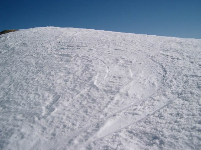 Prime curve sotto la cima