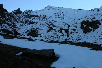 il bel versante Ovest del Monte Losetta (30-10-2005)